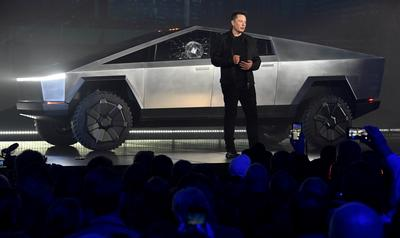 Tesla unveils futuristic Cybertruck