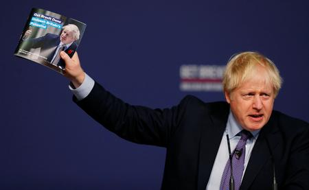 UPDATE 5-UK's Johnson offers up new Brexit promise for Christmas