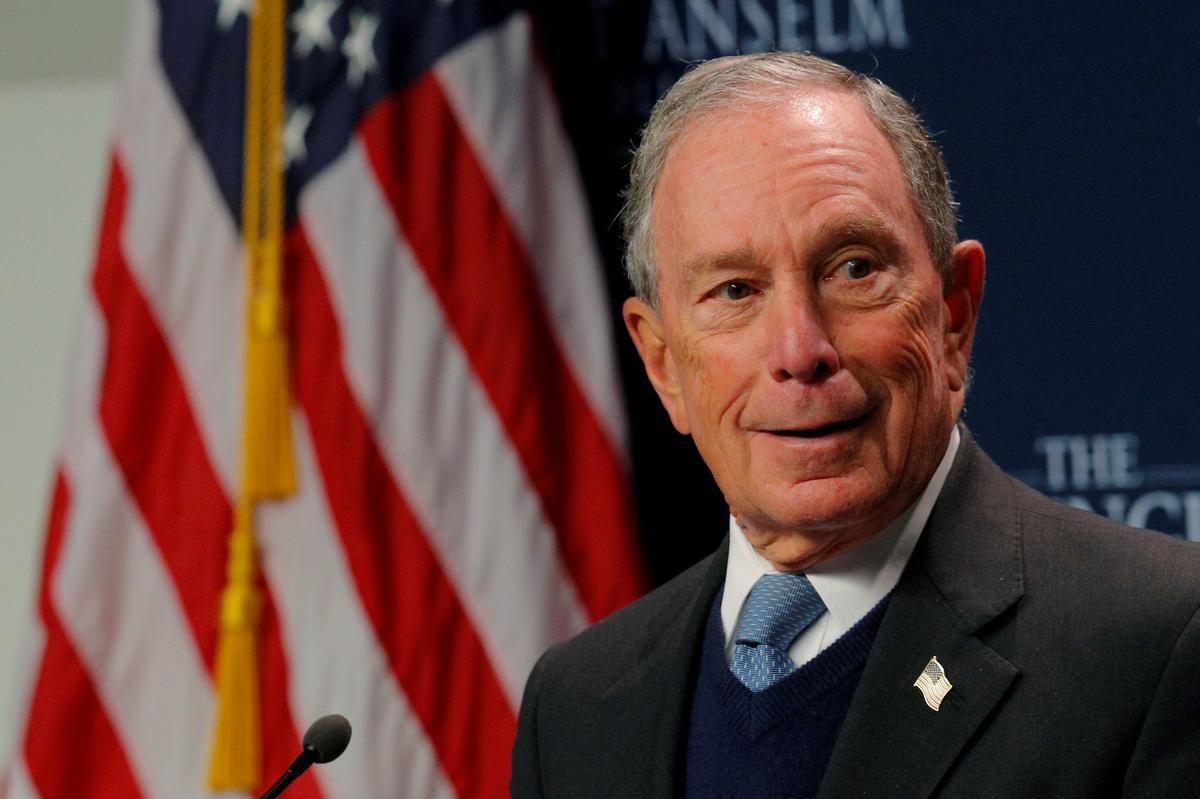Former New York Mayor Bloomberg enters 2020 Democratic presidential race