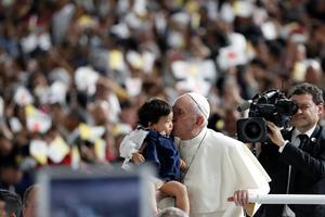 Pope Francis visits Japan