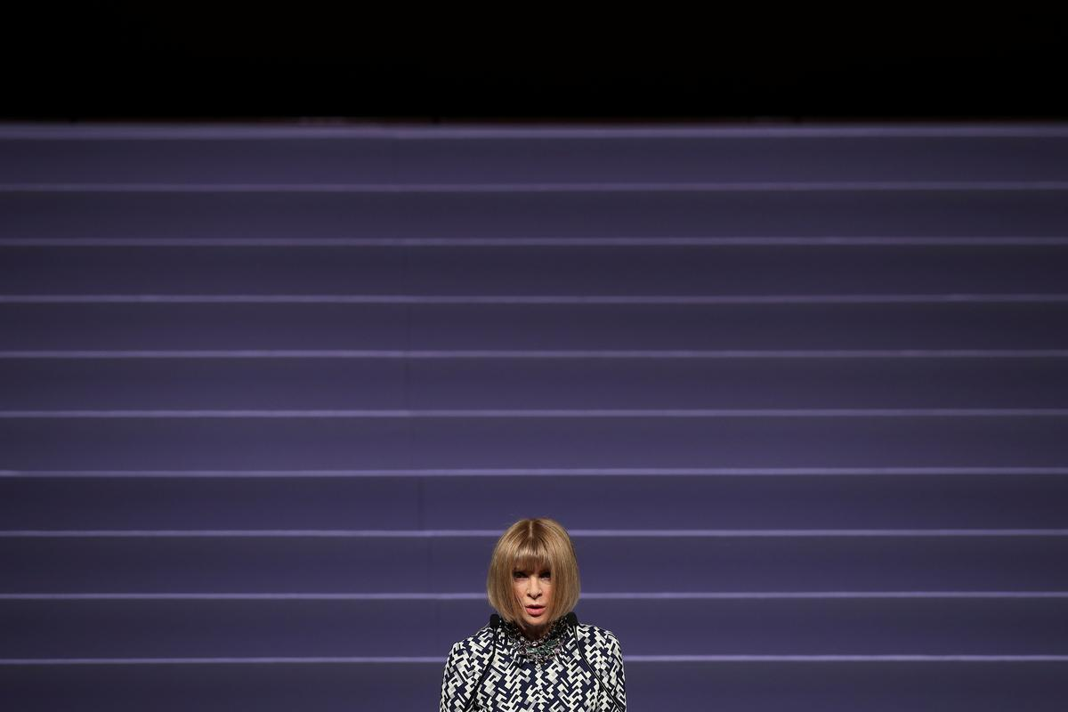 Love your clothes and pass them on, says Vogue supremo Wintour