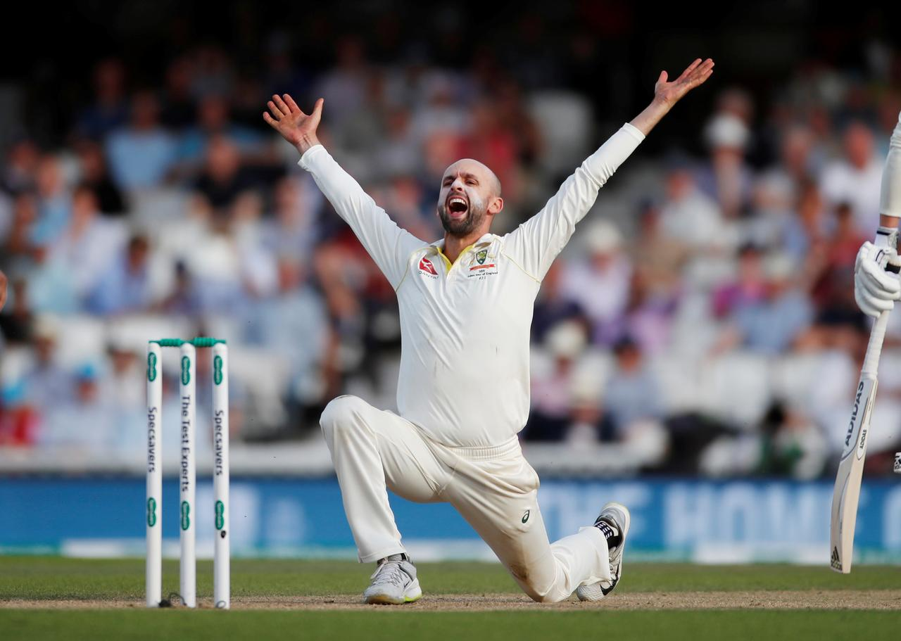 Image result for Pak vs Aus: Australia five wickets from victory after Lyon strikes