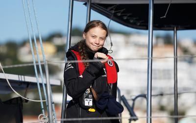 Greta Thunberg reaches Europe on way to climate summit