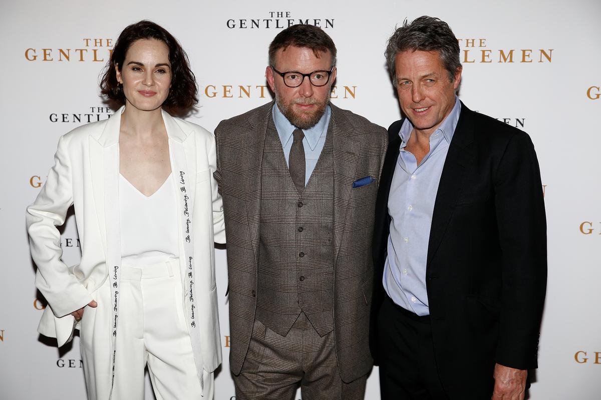 With strong accent, Hugh Grant 'went for it' in Ritchie's 'The Gentlemen'