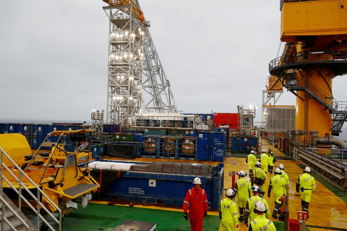 Norway ramps up Western Europe's largest oilfield as oil's future questioned