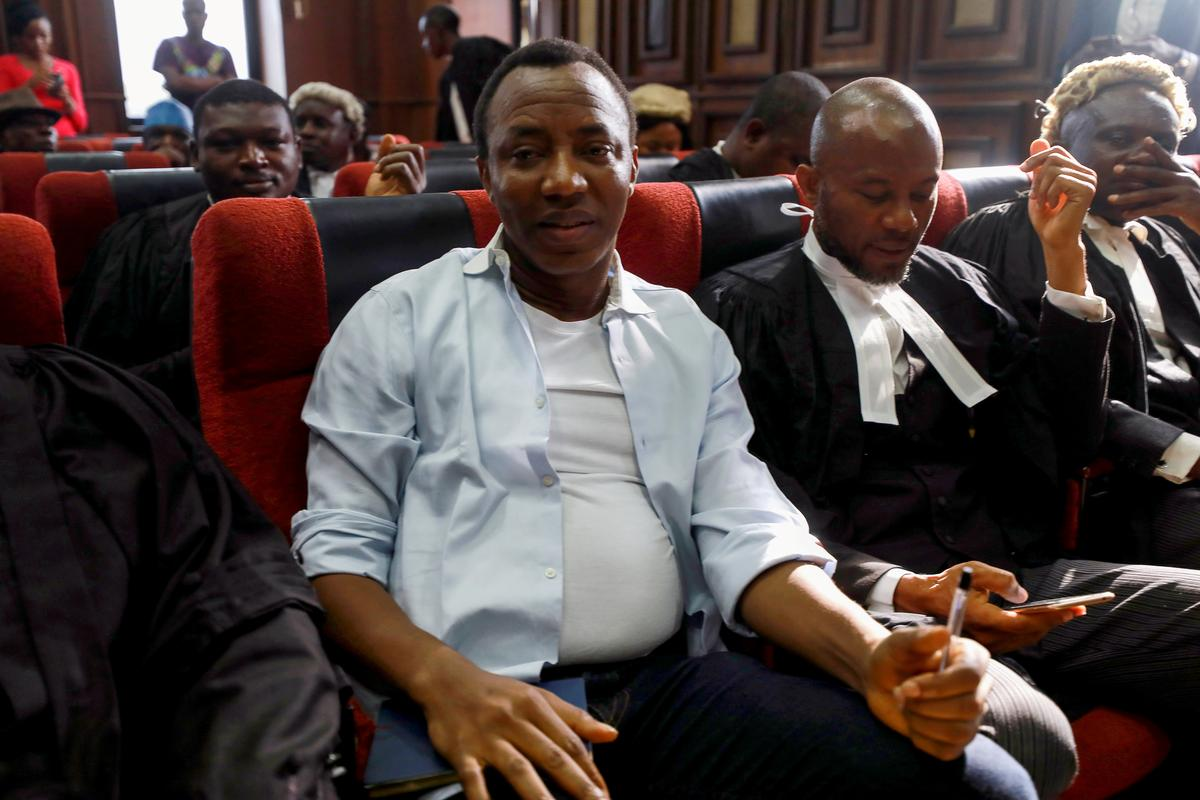 Nigerian activist Sowore released on bail: Sahara Reporters