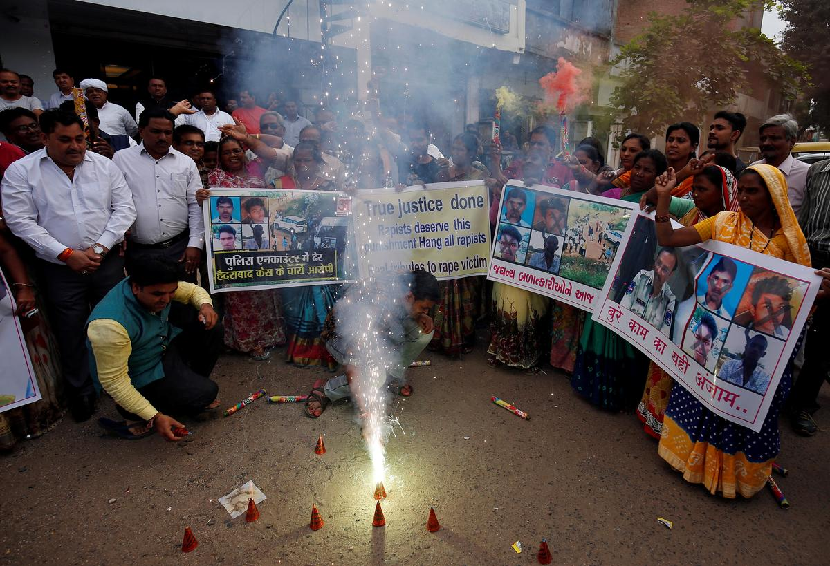 Why many Indians cheered police for killing gang rape accused