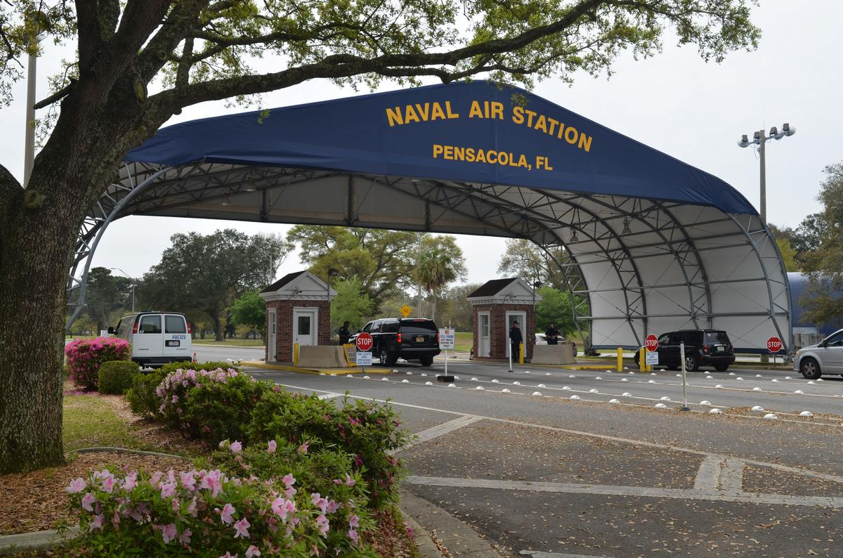 Saudi national suspected in shooting incident at U.S. Navy base in Florida