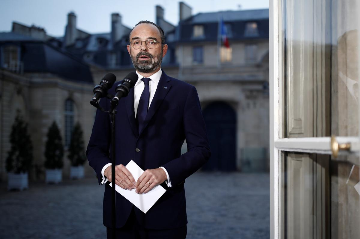 French PM says he is determined to complete pension reform