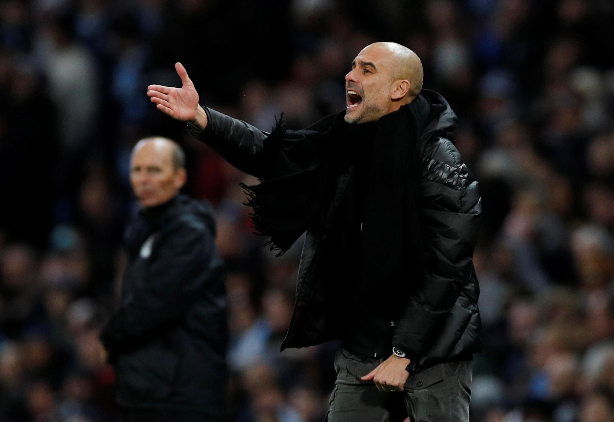 Man City not on par with European elite, says Guardiola