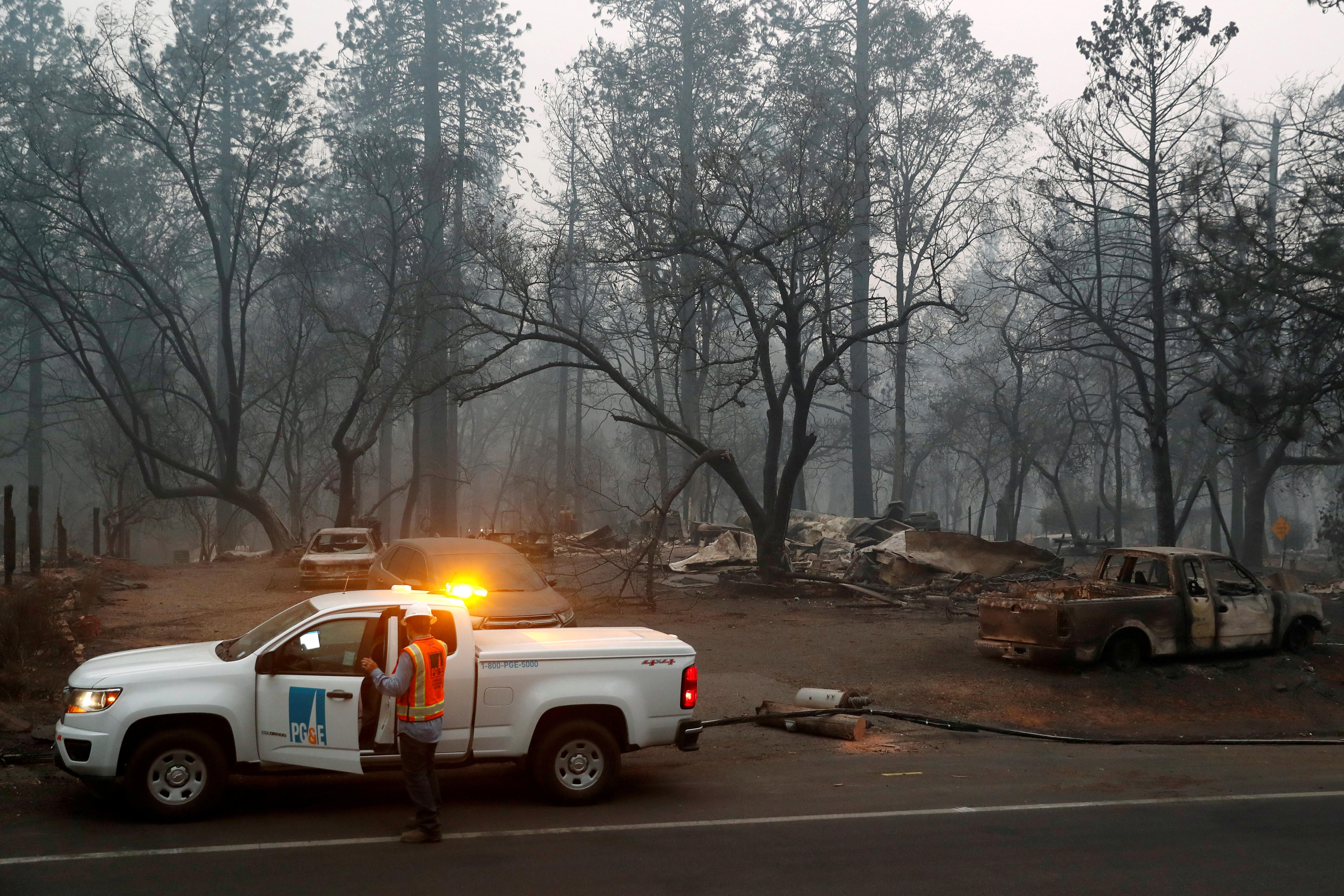 Bankrupt PG&E to take $4.9 billion more charge on wildfire victim...