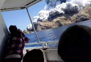 Dozens missing after New Zealand volcano erupts