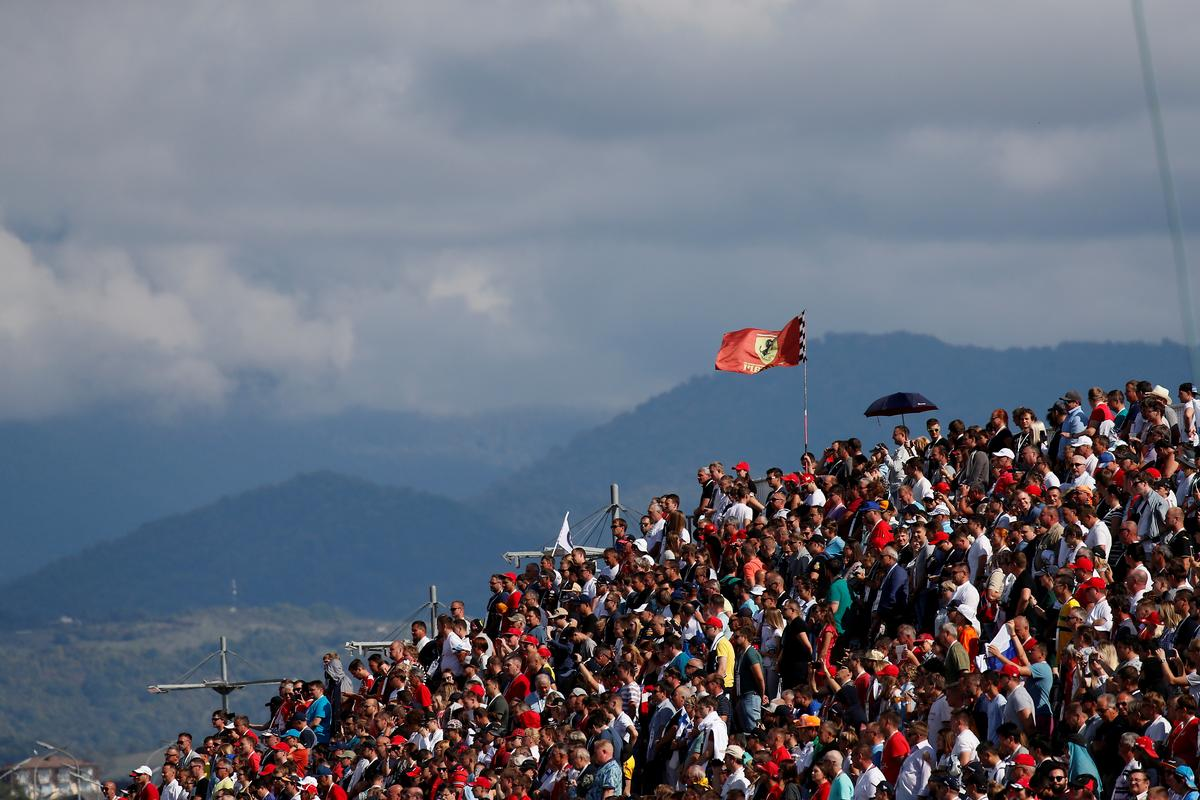 Russian F1 organisers say race stays despite WADA sanctions