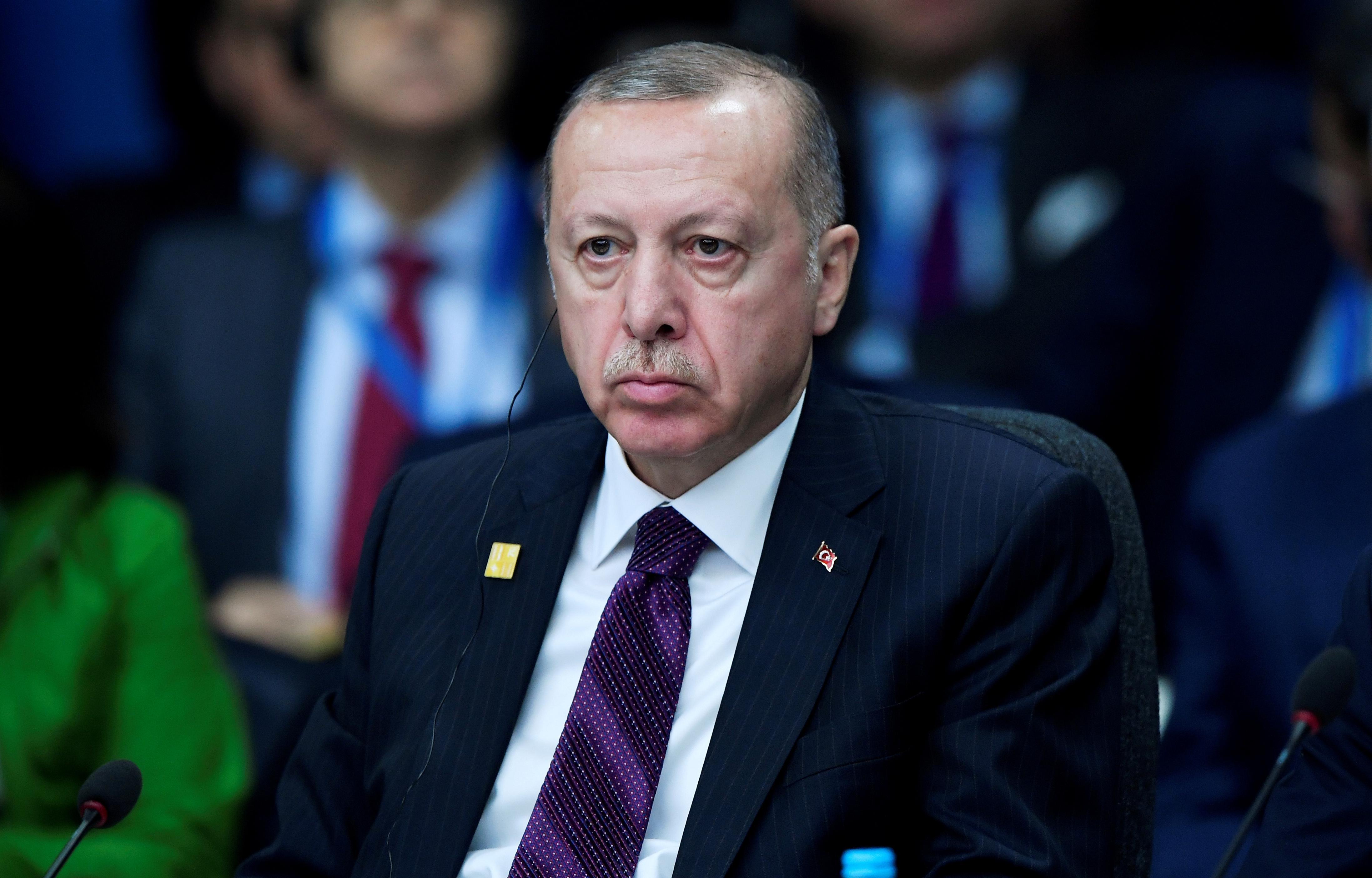 Turkey's Erdogan says Nobel academy rewarding human rights violations