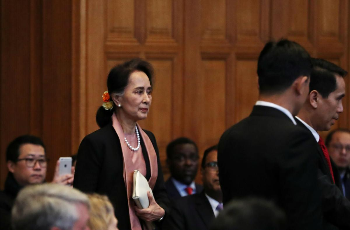 As Suu Kyi looks on, Gambia details mass rapes, killings in Myanmar