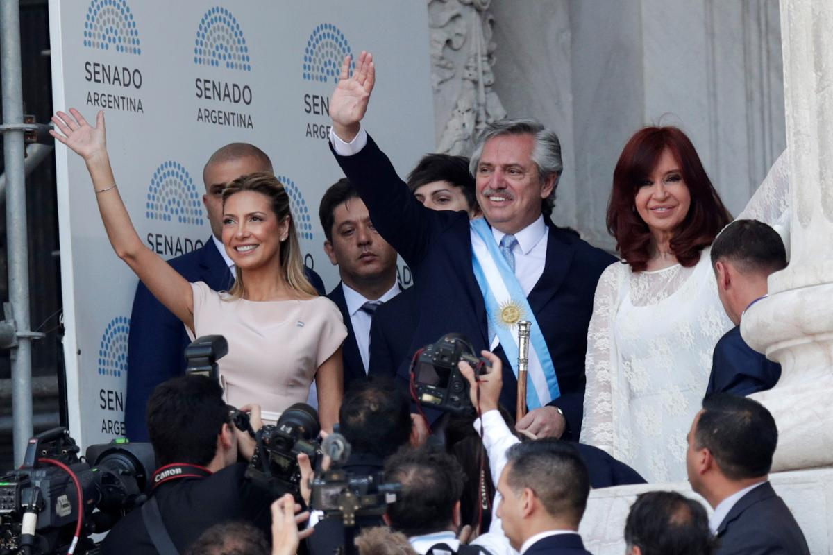 Argentina's Peronist left returns as Fernandez sworn in to power