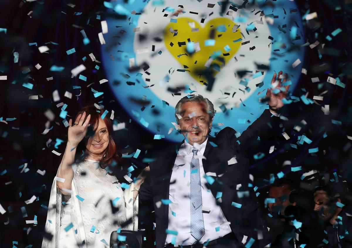 Argentina's Peronist left returns as Fernandez is sworn in