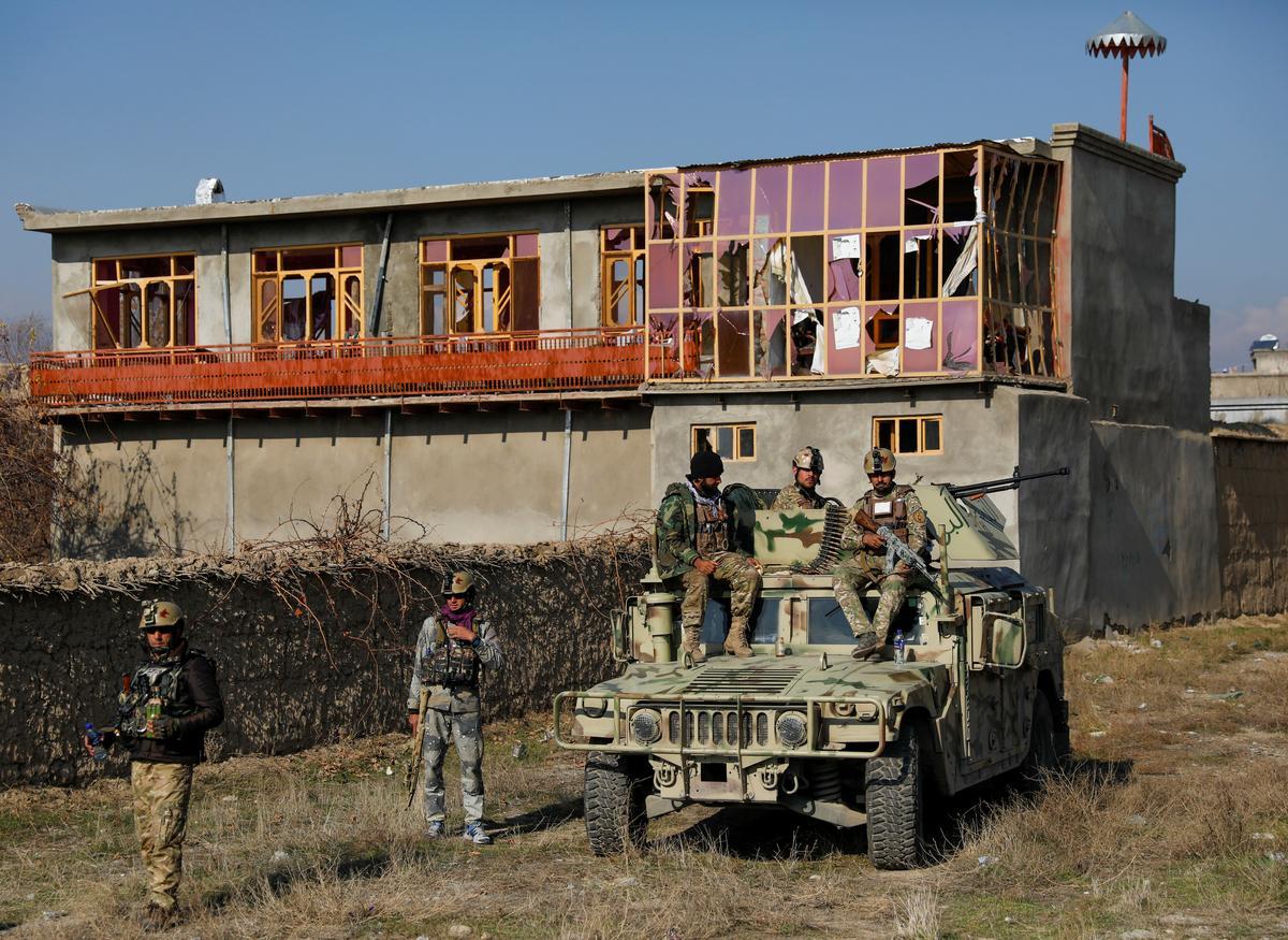 Taliban attack on U.S. military base kills two, injures dozens