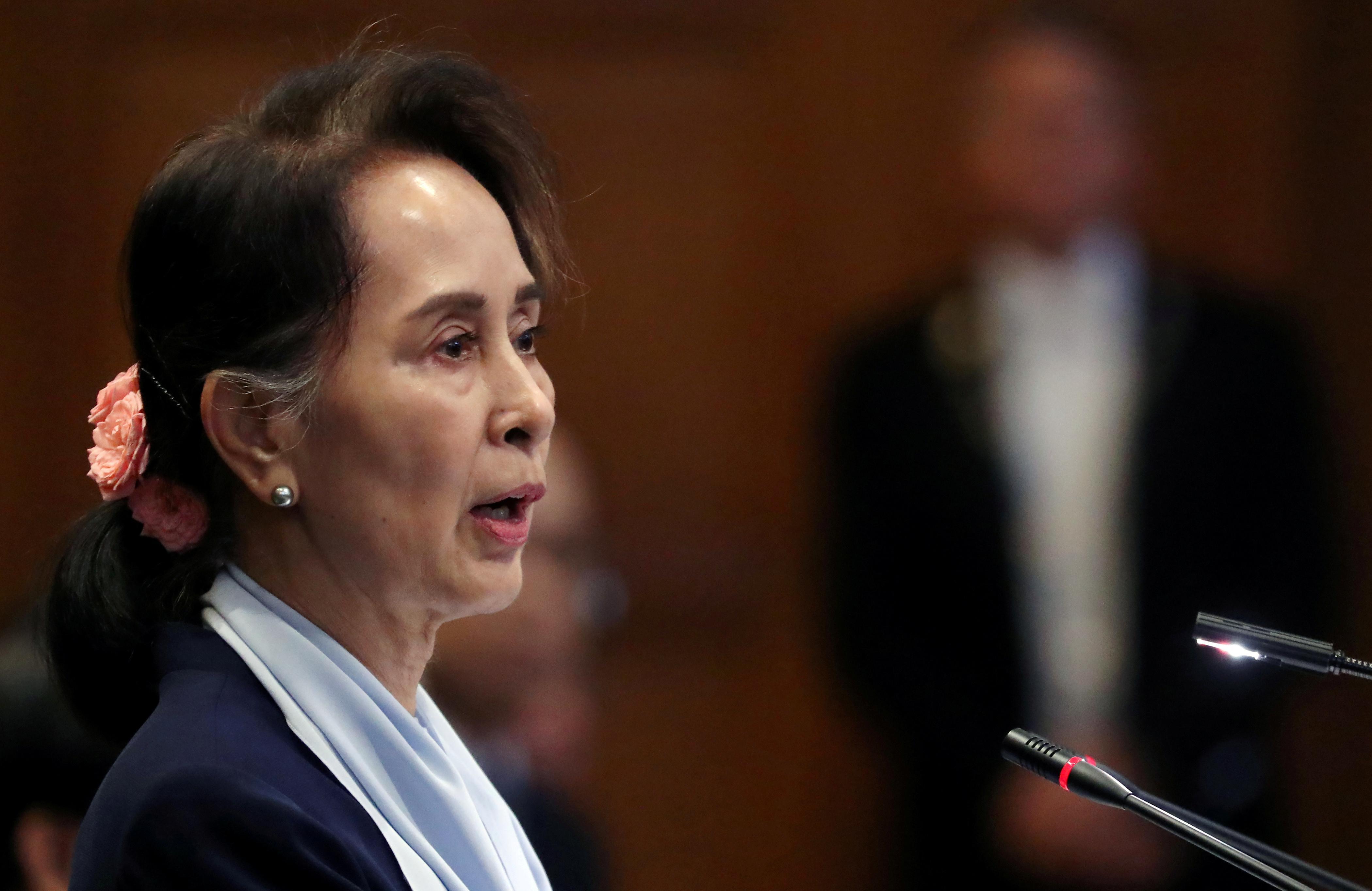 Suu Kyi tells U.N.'s top court charge of Rohingya genocide is...