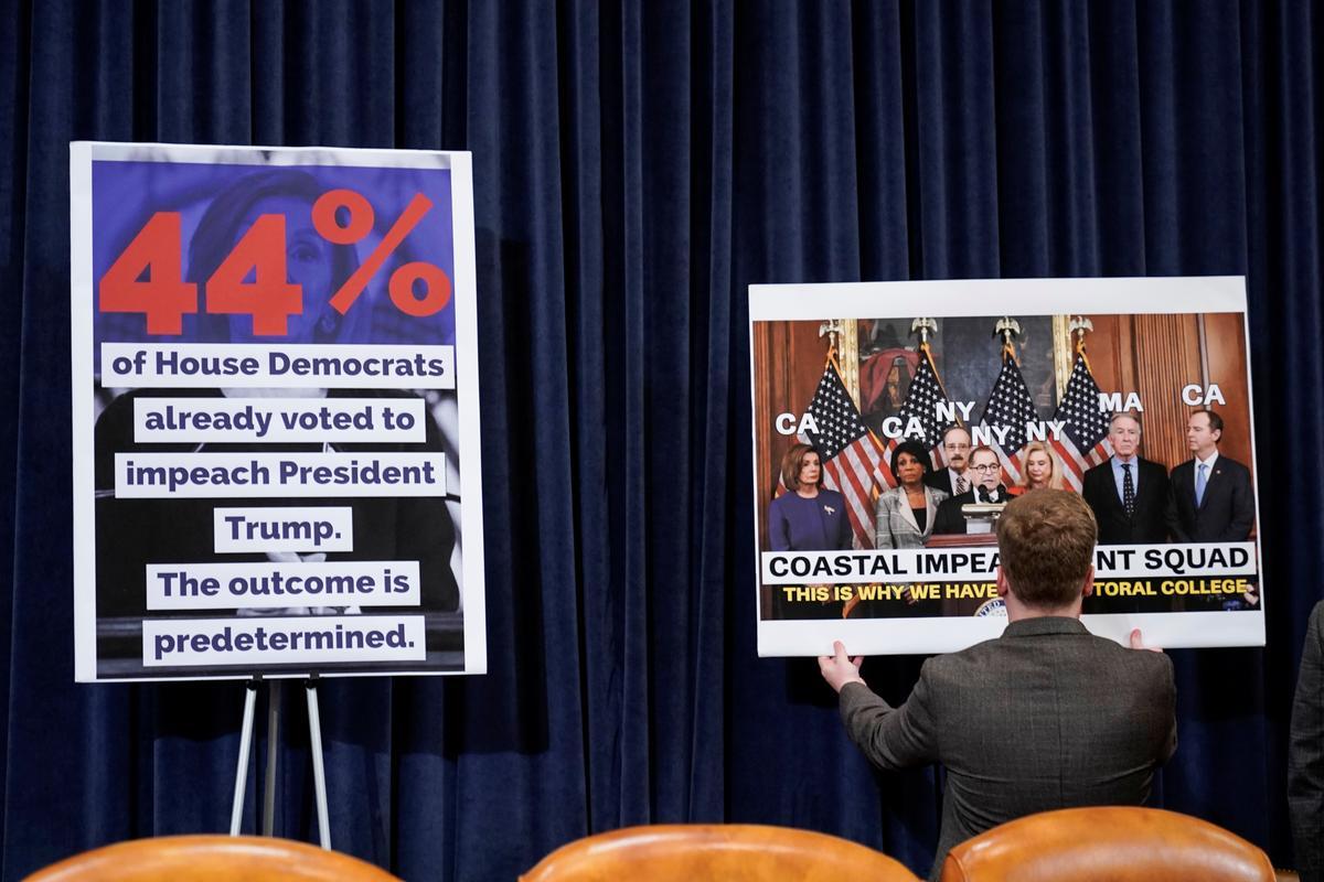 Members of Congress began discussing impeachment articles against Trump