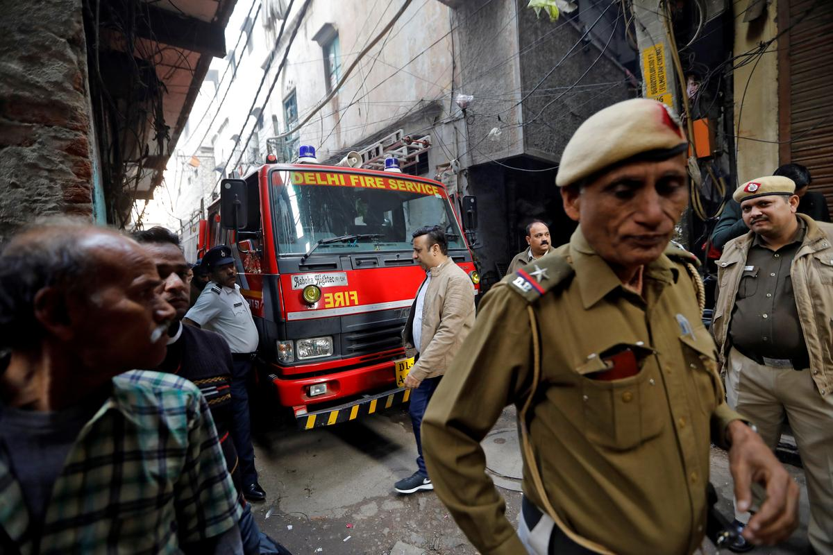 Hopes in ashes for grieving Indian family after deadly factory fire