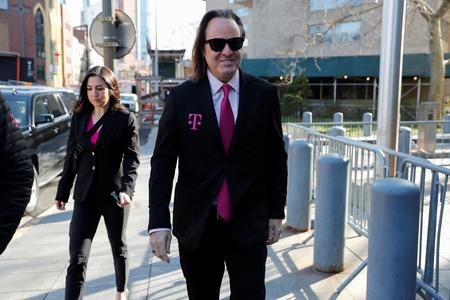 T-Mobile CEO takes the stand in T-Mobile/Sprint merger trial