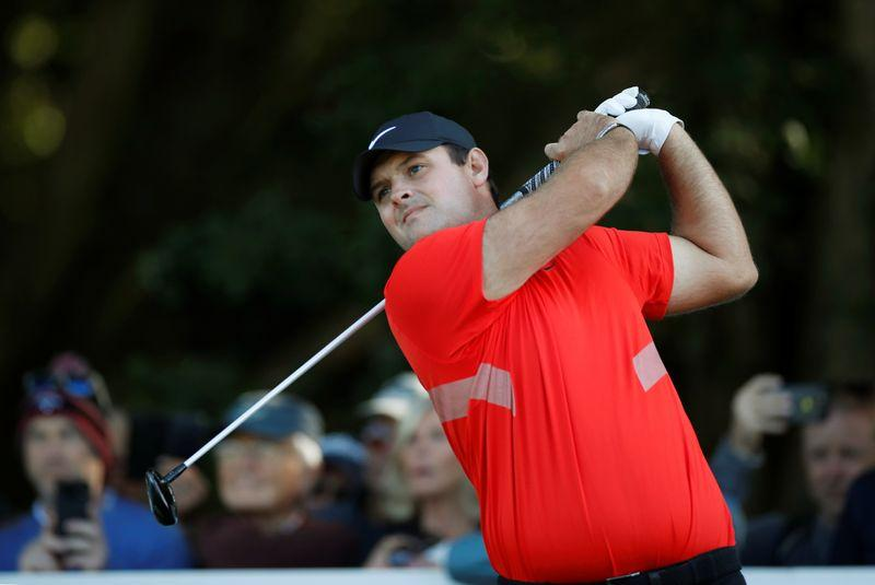 Reed's caddie clashes with heckler at Presidents Cup