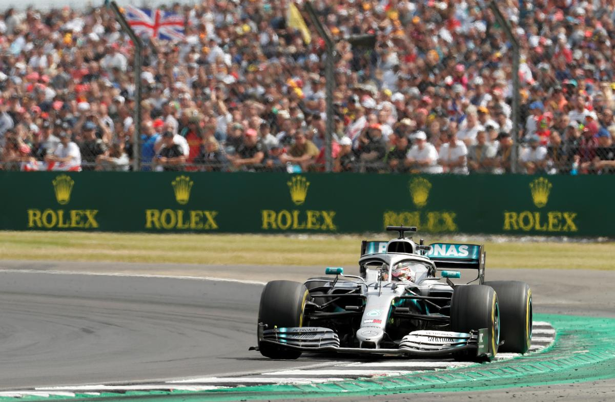 Silverstone on top as F1 reports bigger crowds in 2019