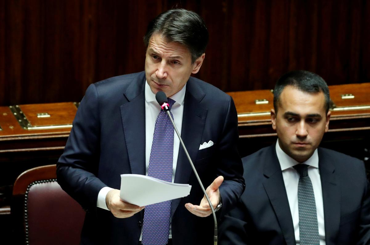 Italy's 5-Star expels senator further reducing slim government majority