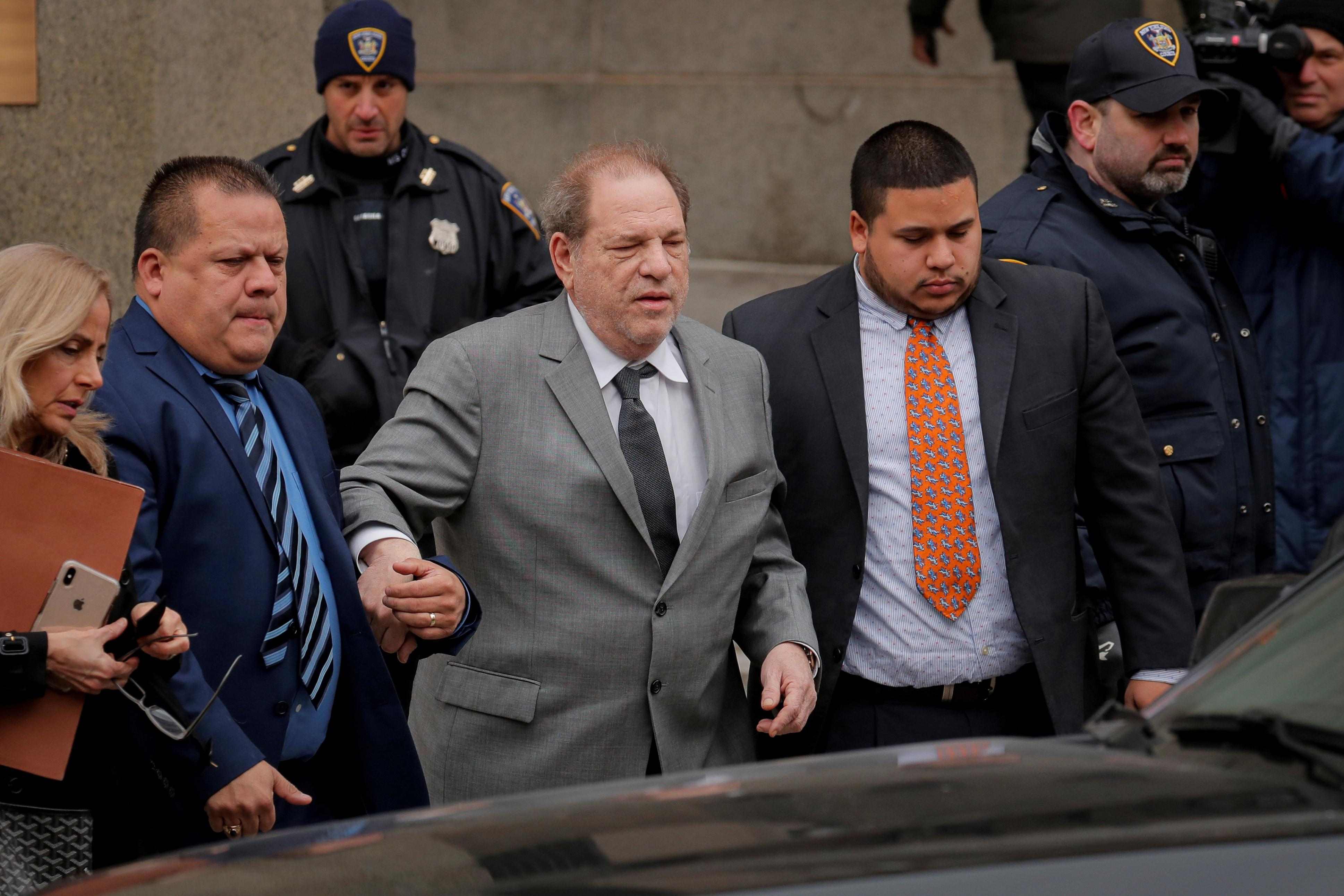 Timeline: The Harvey Weinstein story - from studio to courtroom in...