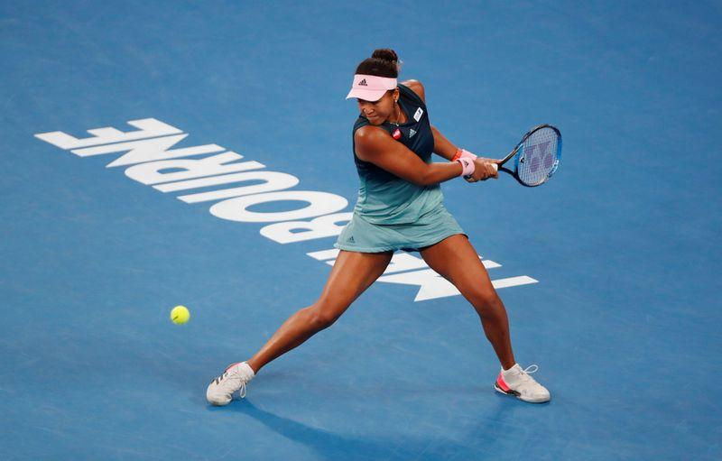 Osaka sees off Sakkari challenge to advance in Brisbane