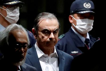 UPDATE 3-Japan issues arrest warrant for Ghosn's wife, looks for ways to bring him back