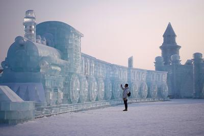 China's city of ice