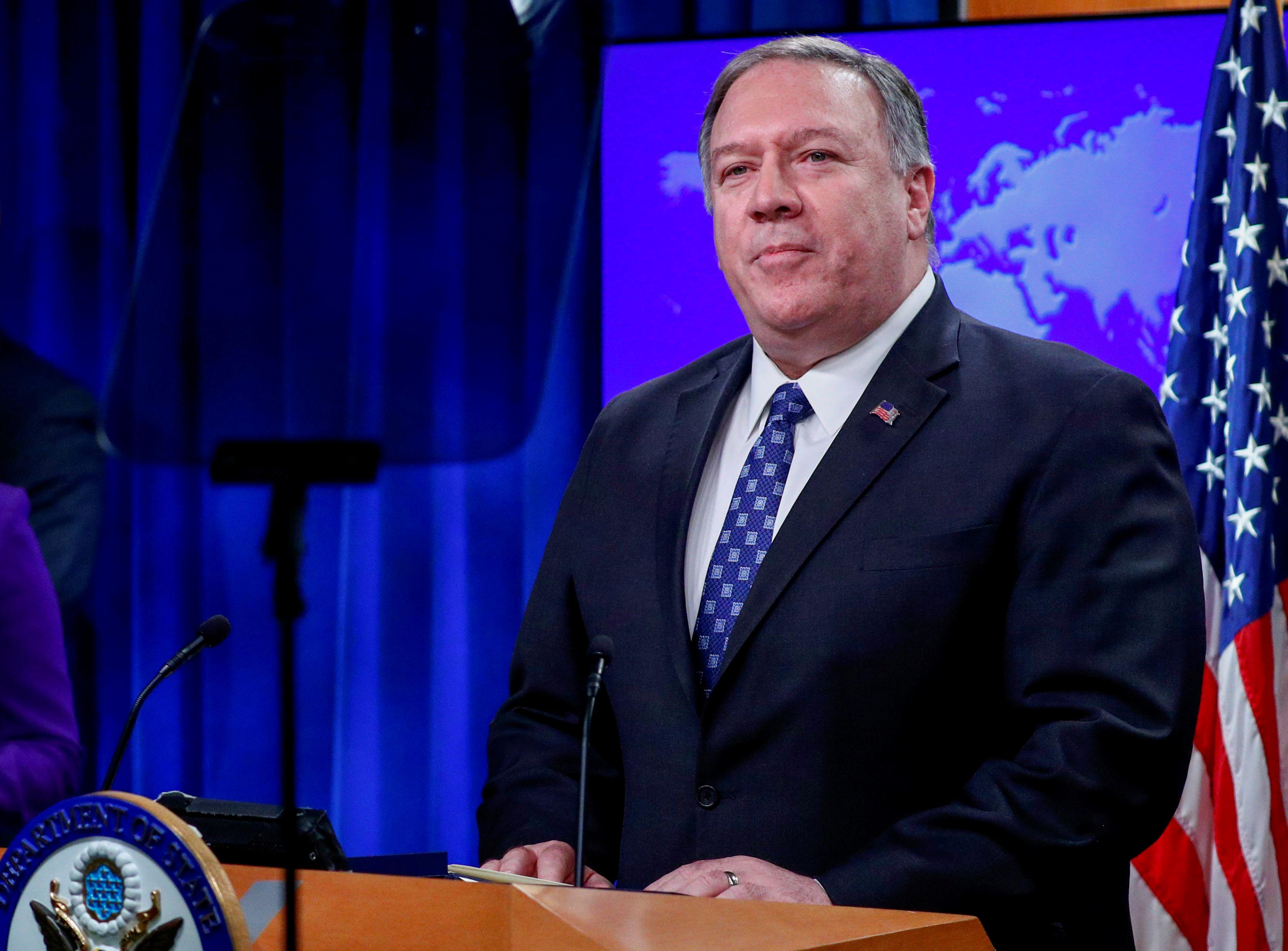 U.S. House committee sets Iran hearing, invites Pompeo