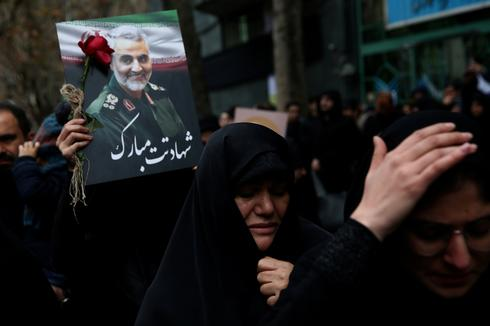 Portraits of Soleimani across Iran