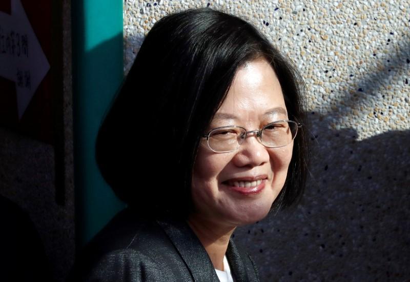 Taiwan President Tsai set to win re-election