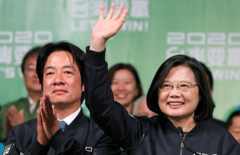 Taiwan president wins landslide victory in stark rebuke to China