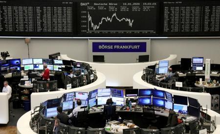 UPDATE 1-European shares flat as Sino-U.S. trade deal in focus; tech gains