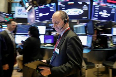 US STOCKS-Wall Street hits record, boosted by trade and earnings optimism