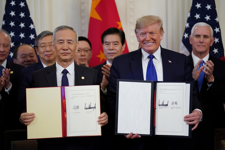 Les États-Unis et la Chine sur la pointe des pieds dans le cadre d'un nouvel accord commercial