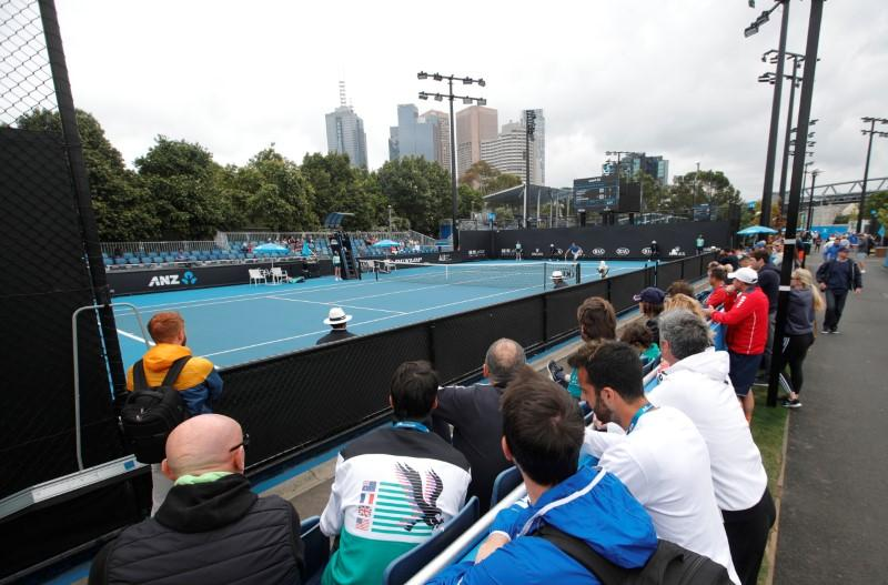 Clearer Weather Allows Ausopen Qualifying To Start On Time