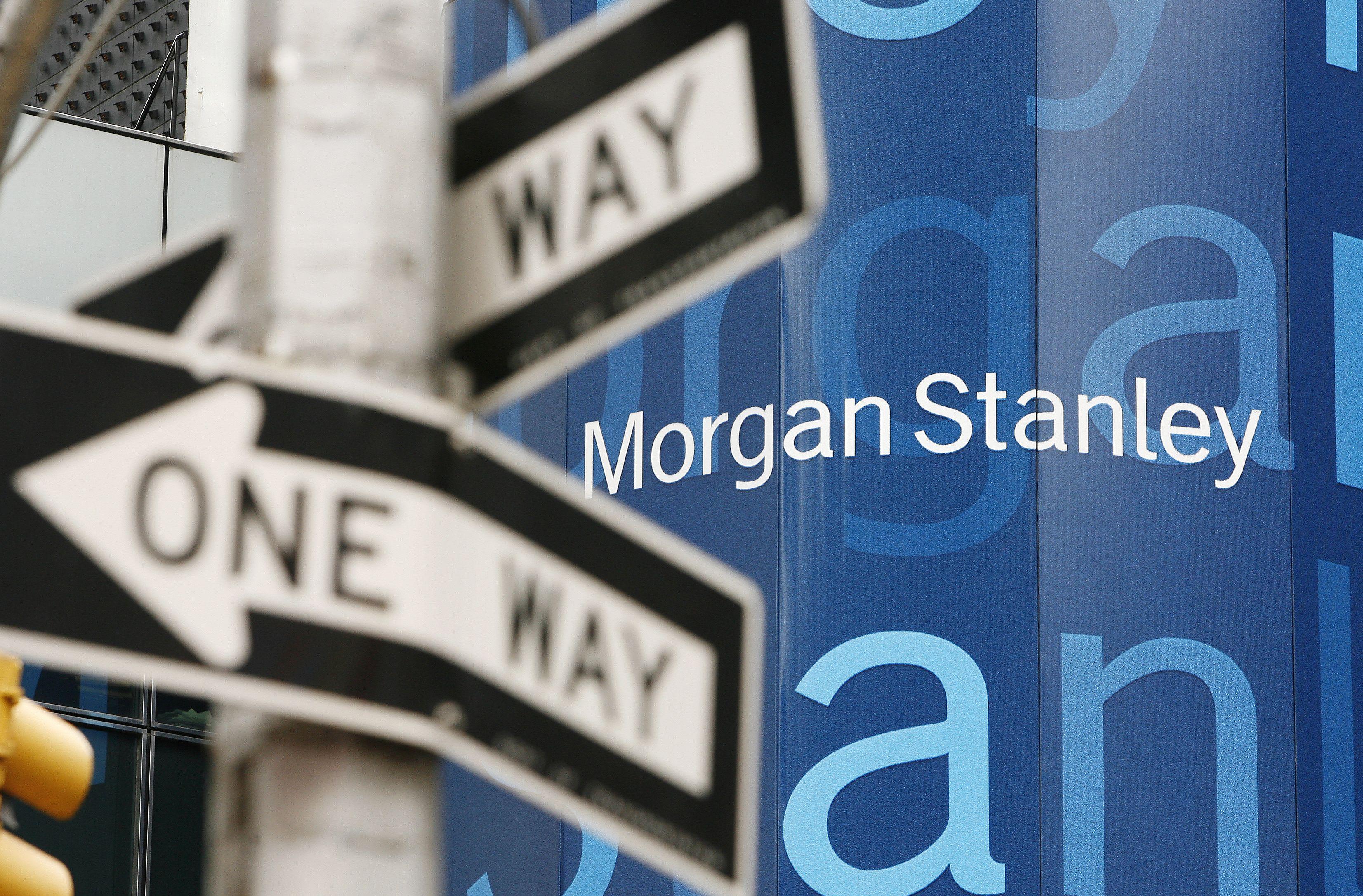UPDATE 5-Morgan Stanley shares soar after Gorman boosts performance targets