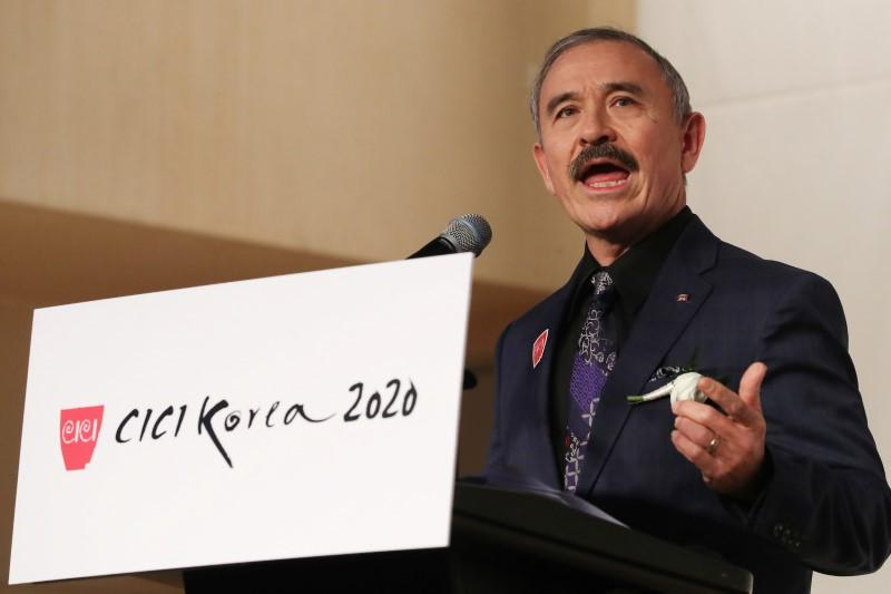 U.S. ambassador becomes mustachioed face of South Korean discontent
