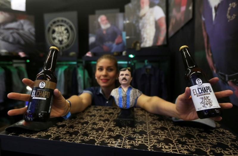 Drink like a Mexican kingpin: 'El Chapo' beer launched by daughter