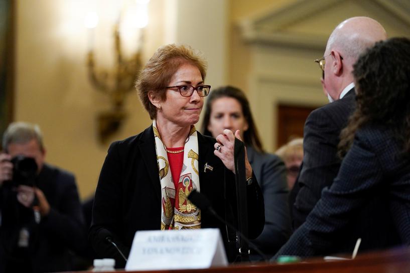 U.S. will work to determine if ex-ambassador Yovanovitch was under threat -Pompeo