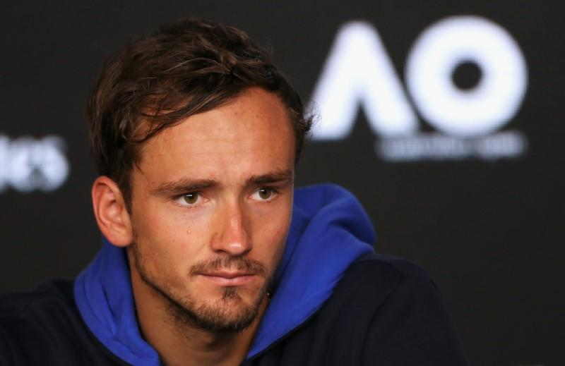 Tennis: Medvedev happy with the hype at Melbourne Park