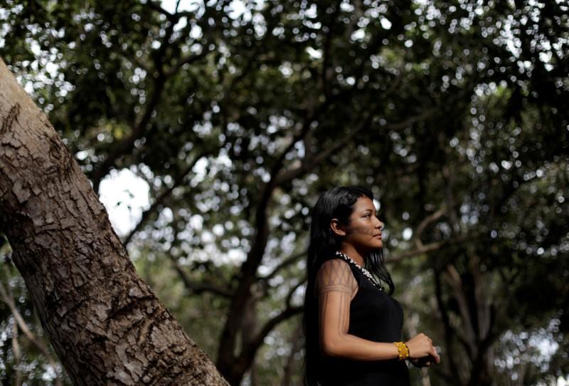 Brazil's answer to Greta Thunberg wants help protecting Amazon...
