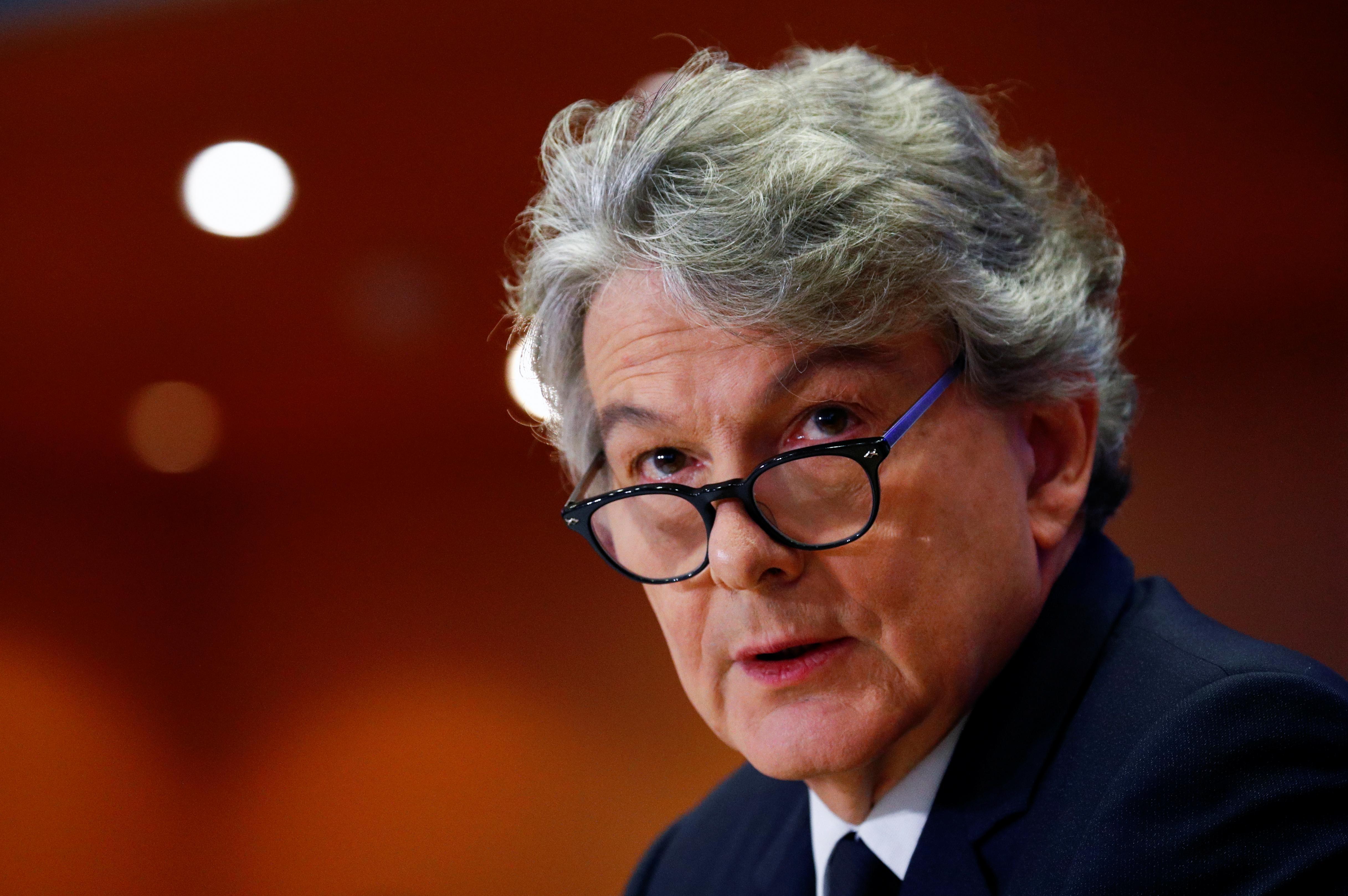 Exclusif: le chef de l'industrie de l'UE rejette les craintes que des règles de sécurité strictes ne retardent la 5G