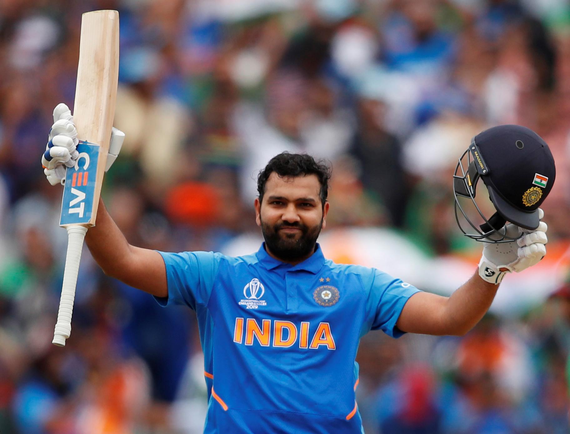 Rohit hundred trumps Smith, India win series