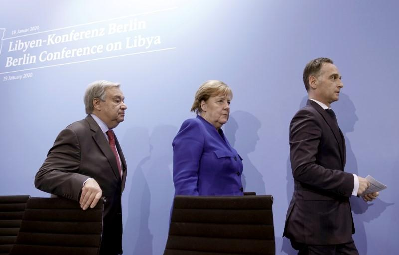 Berlin summit on Libya did not discuss any sanctions: Merkel